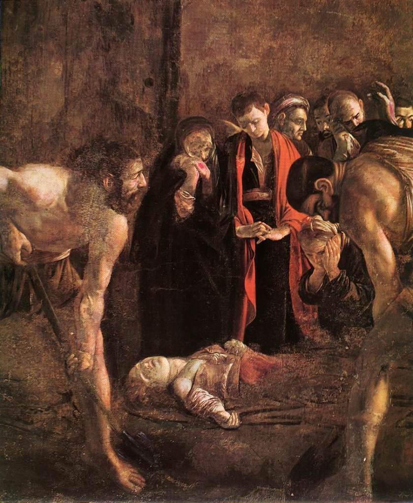 Погребение Святой Лючии
