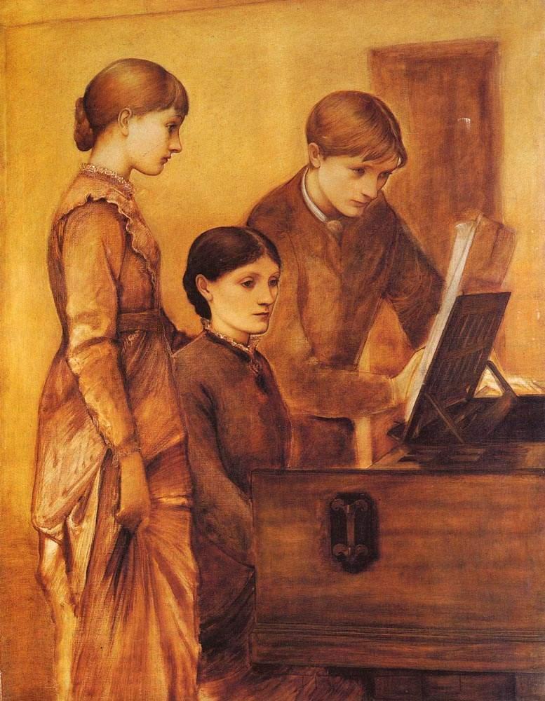 Групповой портрет семьи художника