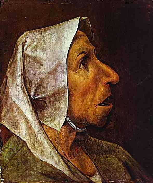 Голова крестьянки 1564