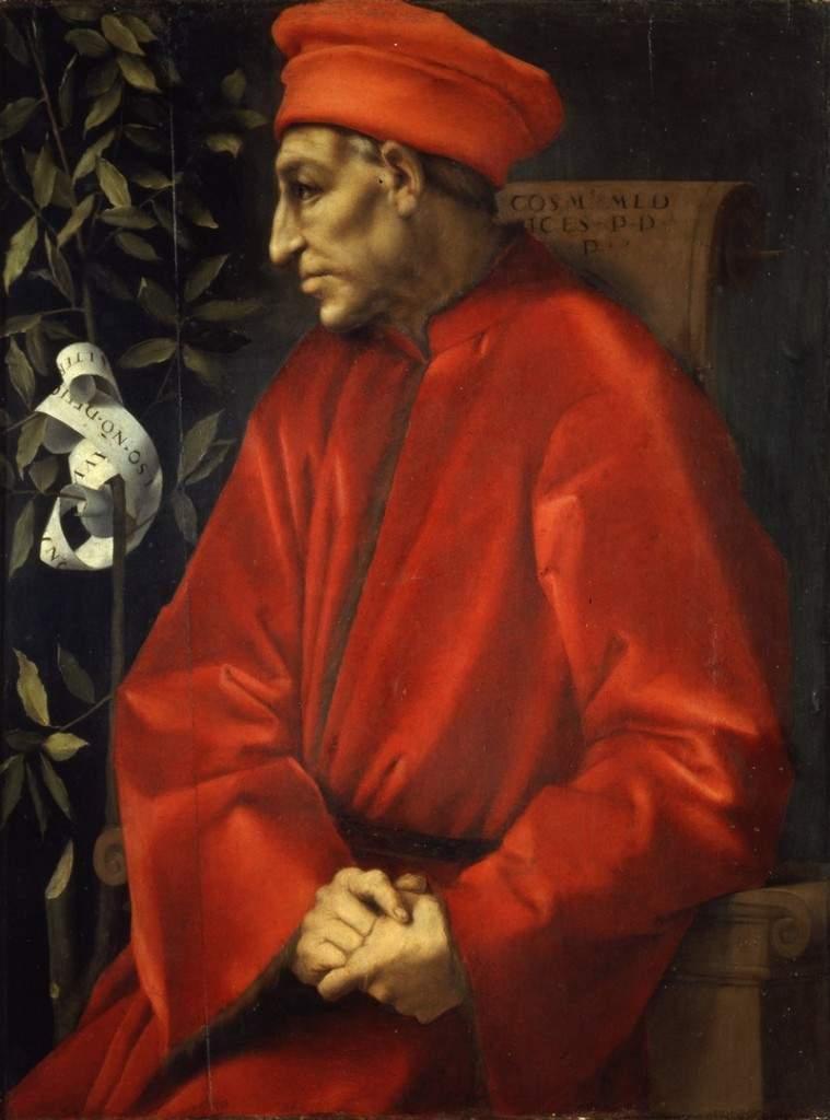 «Портрет Козимо Медичи Старшего» 1530-е