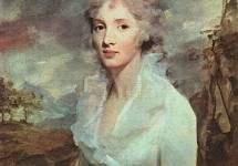 Portrait of Miss Eleanor Urquhart 1793
