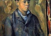 Portrait of the artists son
