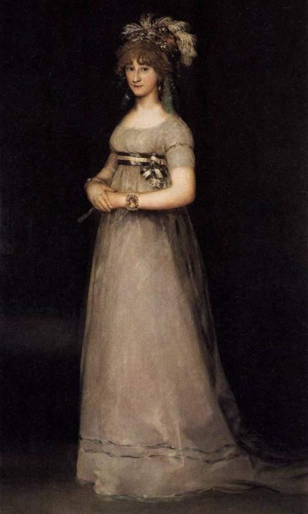 Портрет графини де Чинчон. Около 1800