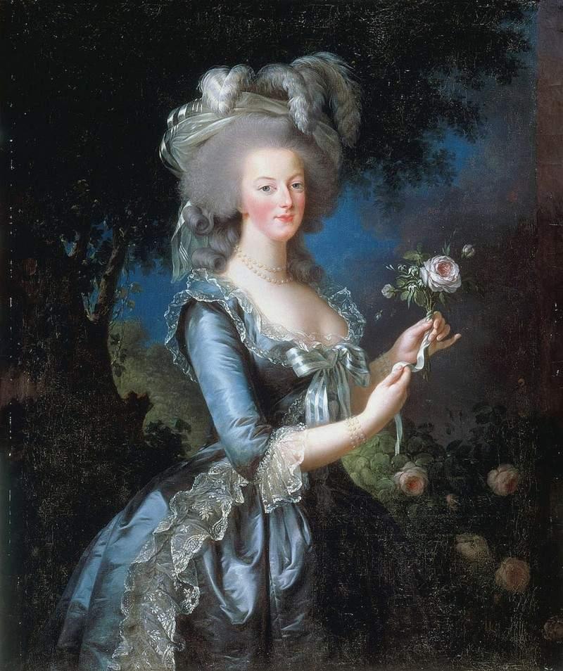 Queen Marie Antoinette of France 1783
