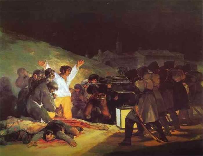 Расстрел повстанцев 3 мая 1808 года в Мадриде. 1814