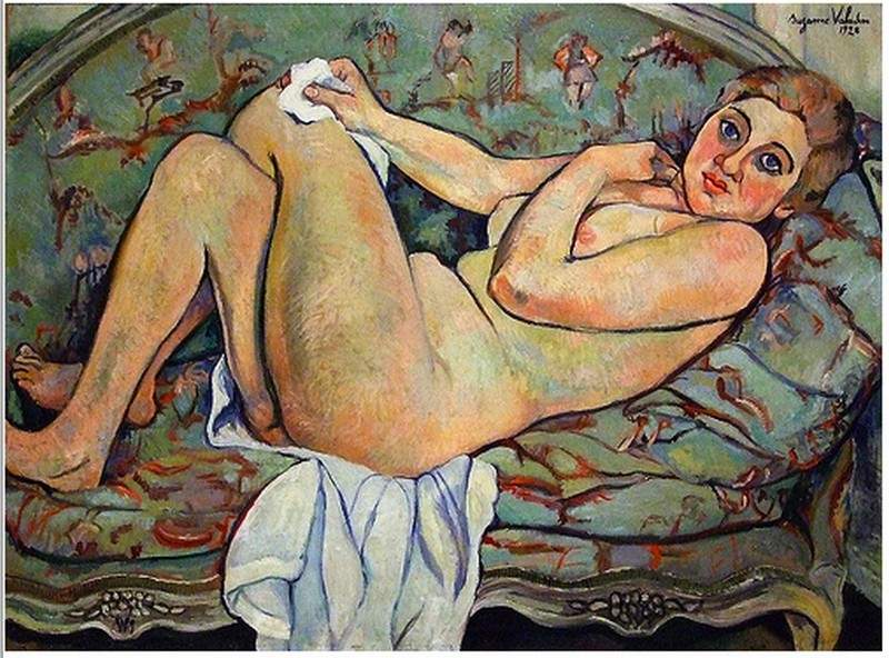 Reclining nude 1928