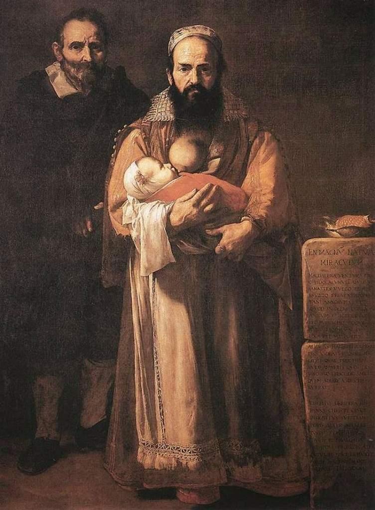 Магдалена Вентура с мужем и сыном 1631