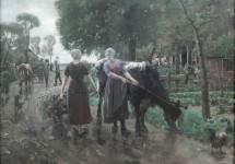 Road in Dutch Village 1885