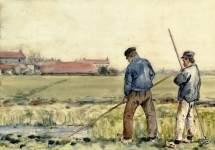 Scene in Holland 1883