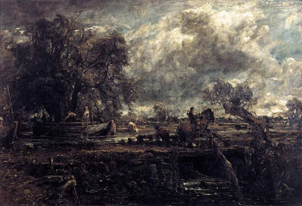 Этюд для скачущей лошади 1824