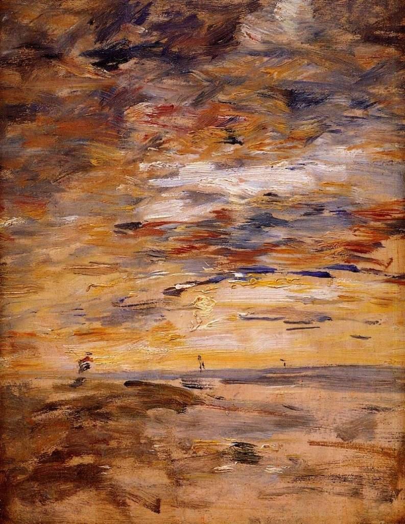 Sky at Sunset 1890