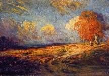 Sunlit Hillside 1909