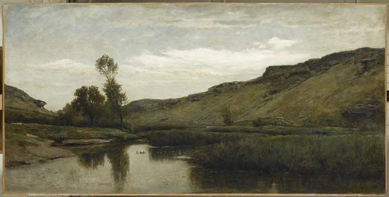 Большая долина в Оптево 1857