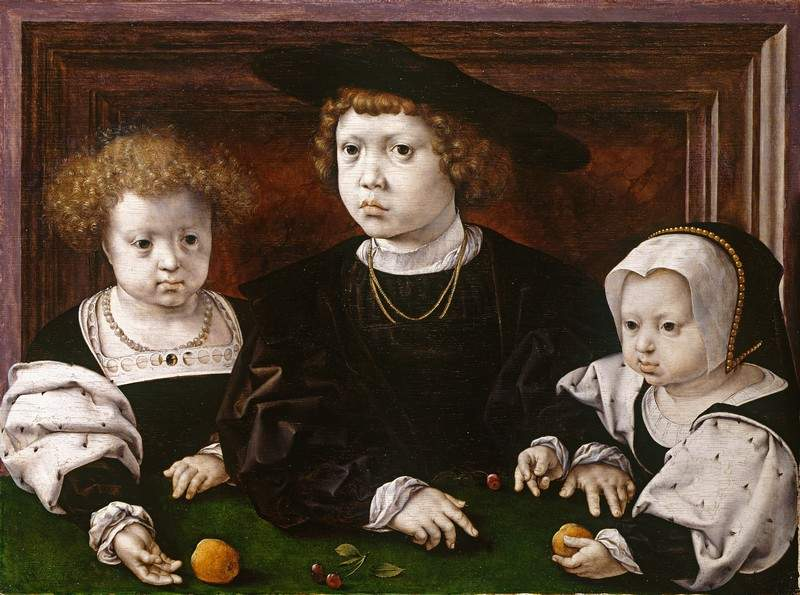 The children of King Christian II of Denmark, Norway and Sweden