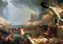 The Course of Empire: Destruction 1836