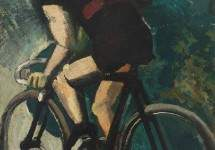 The Cyclist 1916
