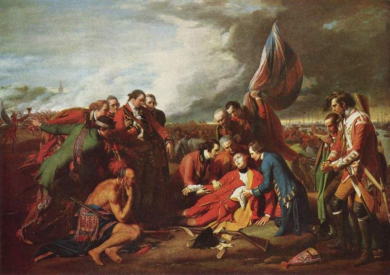 The Death of General Wolfe 1770