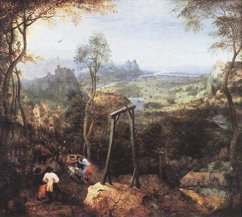 Сорока на виселице 1568