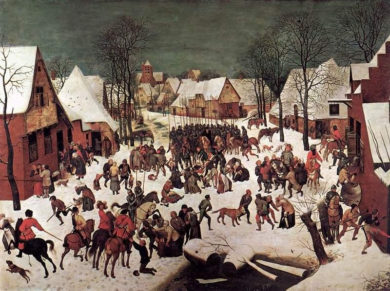 Избиение младенцев 1566