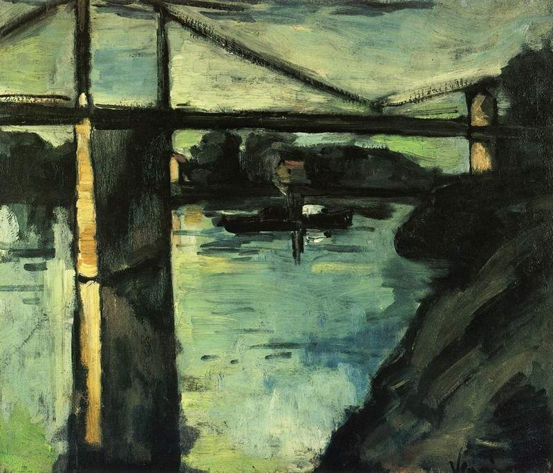 The Pont de Chatou 1908