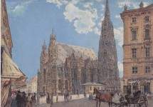 The St. Stephen's Cathedral in Vienna 1831