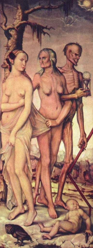 Три возраста человека и смерть 1543