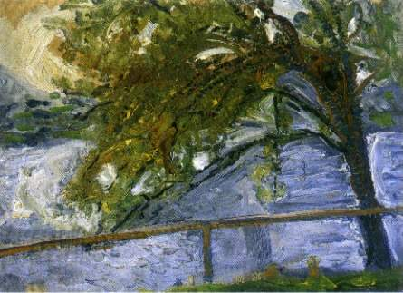 Tree on Lake Traun, 1907