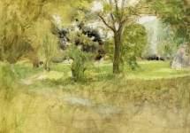 Trees in a Field 1907