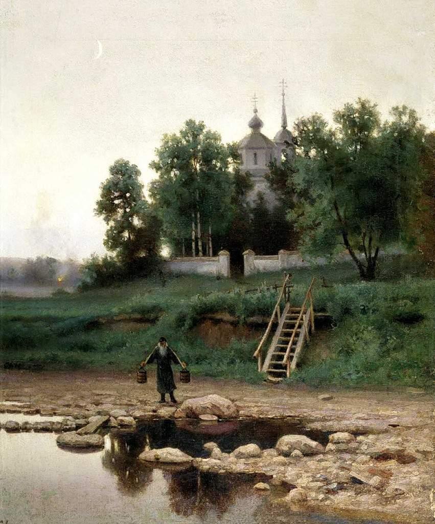 """""""У монастыря"""""""