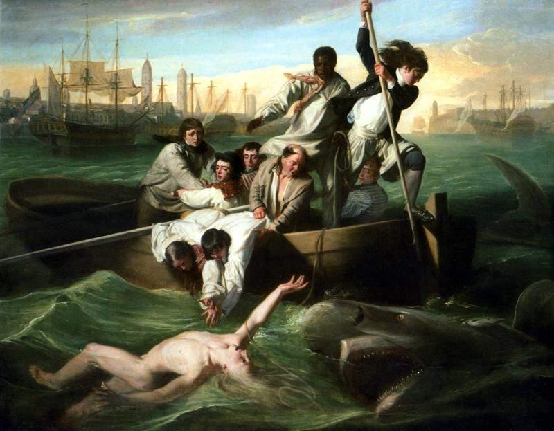 Уотсон и акула 1782