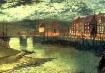 Whitby Docks 1876