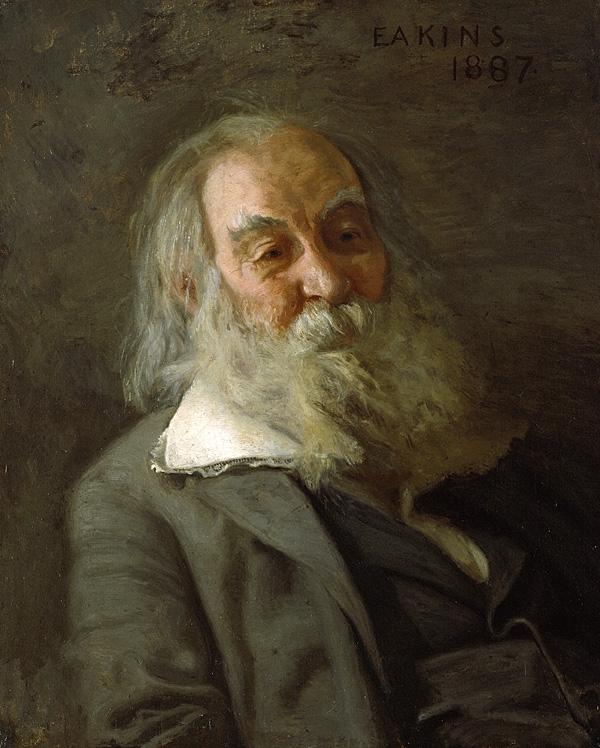Портрет Уитмена 1887