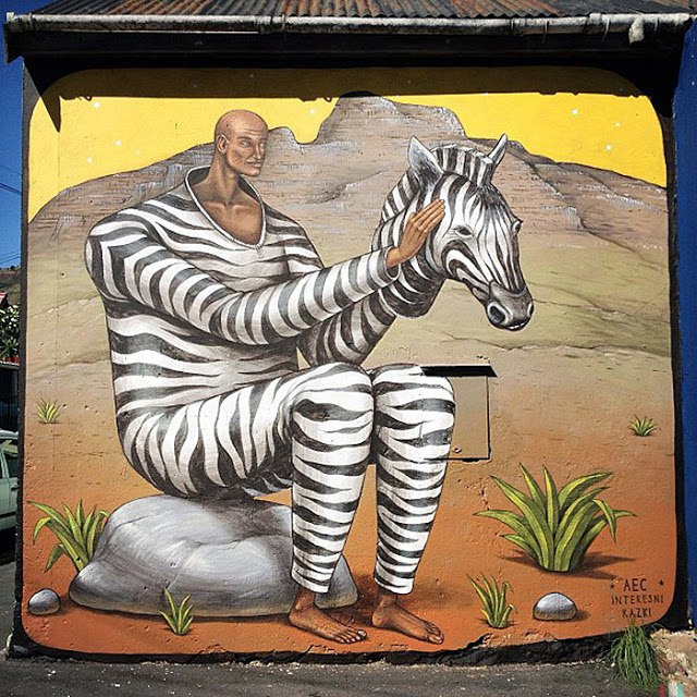 Interesni Kazki New Mural In Cape Town, South Africa