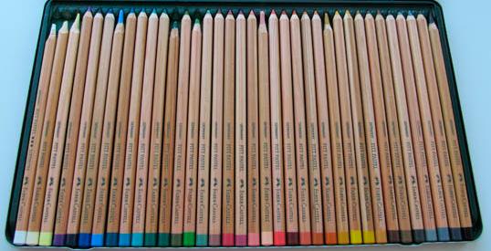 пастель-карандаши