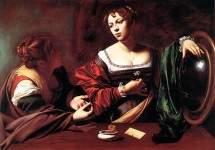 Марта и Мария Магдалина, Караваджо