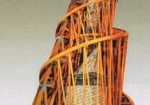 Модель памятника III Интернационала, В.Татлин