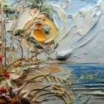 Скульптурные картины акриловыми красками от Джастина Джеффри
