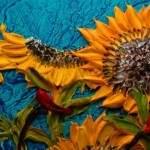 Скульптурные картины акриловыми красками от Джастина Джеффри2