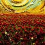 Скульптурные картины акриловыми красками от Джастина Джеффри4