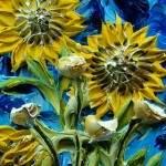 Скульптурные картины акриловыми красками от Джастина Джеффри6