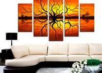 12 советов при украшении интерьера модульными картинами