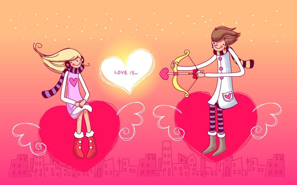 влюбленные