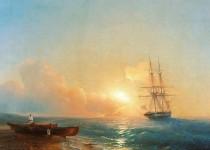 Картины Айвазовского были похищены из галереи