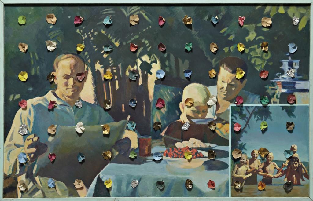 Илья Кабаков (120↓), «Праздники № 10», 1987 г.