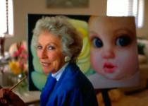 Маргарет Кин и ее большие глаза