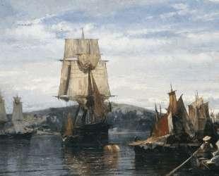 Outside the harbor — Константинос Воланакис