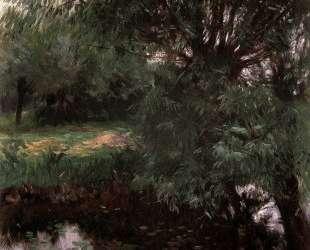 A Backwater at Wargrave — Джон Сингер Сарджент