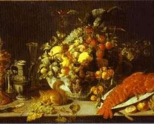 A Banquet Piece — Франс Снейдерс