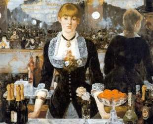 A Bar at the Folies-Bergere — Эдуард Мане
