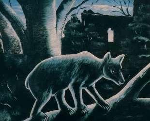 Медведь в лунном свете — Нико Пиросмани